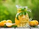 Рецепта Домашна лимонада с мед и свежа мента (с варене)